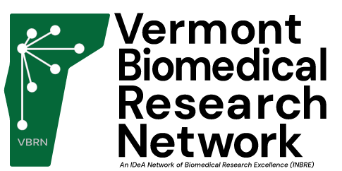logo for the vermont biomedical research network